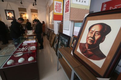Stolen Mao Zedong calligraphy scroll worth $300M found cut in half