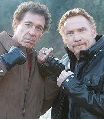 Former teen idols Bonaduce, Williams play rivals in 'Bigfoot'