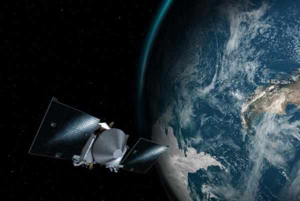 Watch: NASA'S OSIRIS-REx executes slingshot around Earth