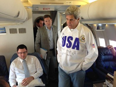 Secretary Kerry to drop hockey puck at Olympic send-off in Washington, D.C.