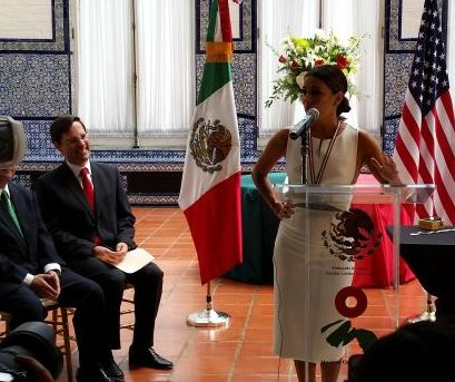Eva Longoria recognized by Mexican government