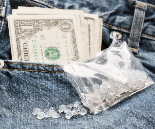 Police: Man told loan office worker he needed cash 'to purchase meth'