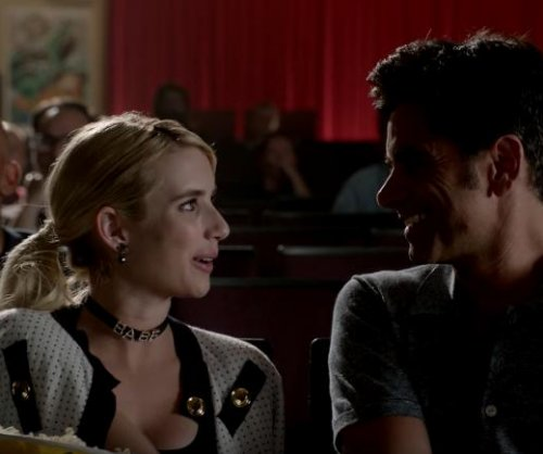 'Scream Queens': Emma Roberts, John Stamos get close in new promo