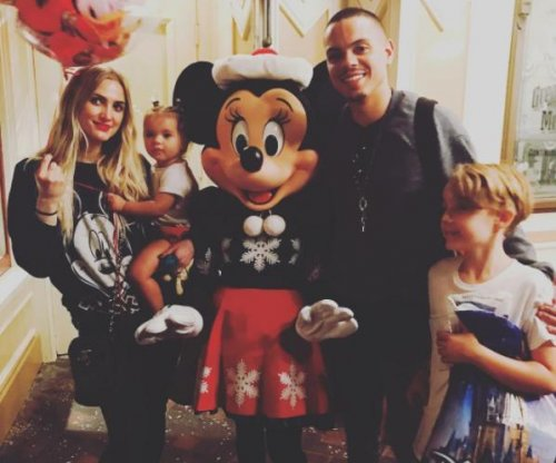 Ashlee Simpson celebrates son Bronx's birthday at Disneyland