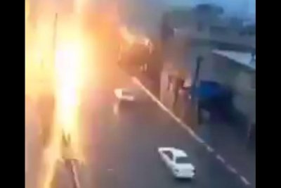 & Watch: Moving car smokes after being struck by lightning - UPI.com azcodes.com