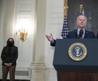 President Joe Biden says passing $1.9 trillion COVID-19 relief bill 'giant step forward'