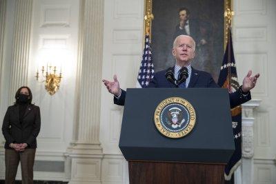 President Joe Biden says passing $1.9 trillion COVID-19 relief bill 'giant step forward'