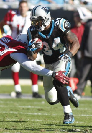 NFL: Carolina 27, Arizona 23