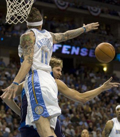 NBA: Denver 124, Dallas 110