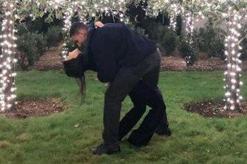 Kourtney Kardashian dances with Younes Bendjima in rare photo