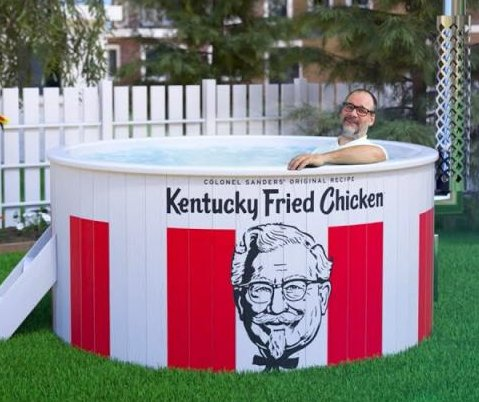 KFC raising funds to create 'Kentucky Fried Hot Tub'