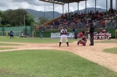 Diamilette Quiles: First woman to play in all-male Puerto Rico baseball league
