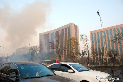 Man held in blasts that killed 1, hurt 8 in China's Shanxi province