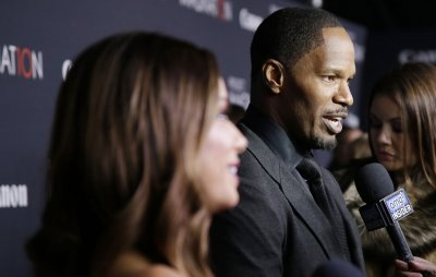 Jamie Foxx attends Trayvon Martin rally in Florida