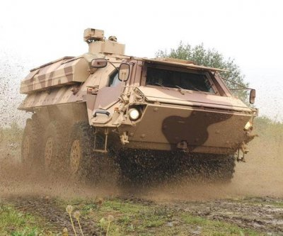 Design of new armored vehicle in the works