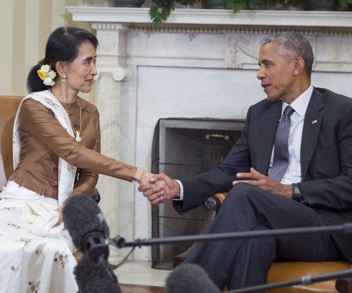 Before energy exhibit, sanctions ease for Myanmar