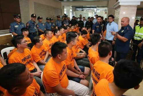 Philippines police bust kidnapping gangs, arrest 43