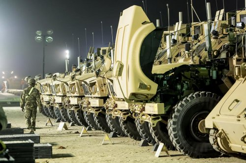 Navistar contracted by Army for MRAP tech support