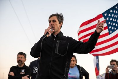 Beto O'Rourke holds march to counter President Trump's El Paso rally