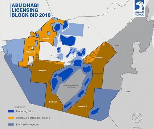 Abu Dhabi opens up to oil and gas bidders