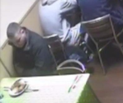 CCTV catches restaurant fraudster releasing rat