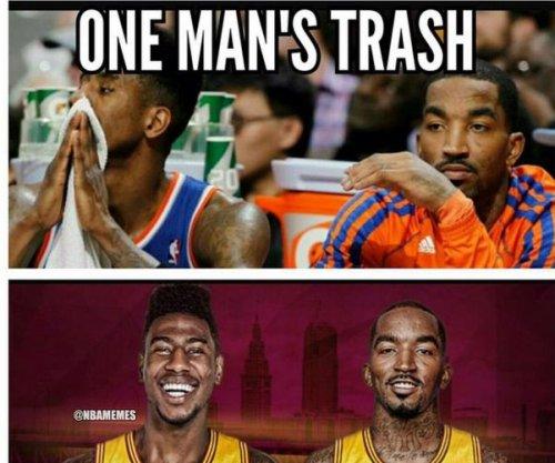 J.R. Smith shuns New York Knicks on Instagram