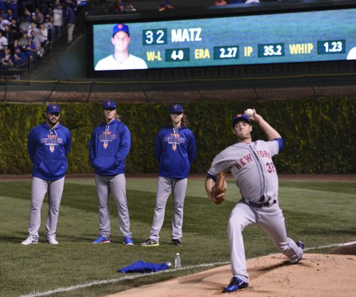 Mets showing confidence in rookie starter Steven Matz