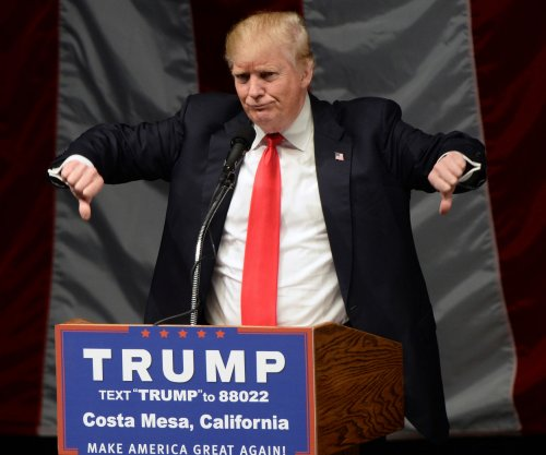 20 arrested in violent protests at California Trump rally