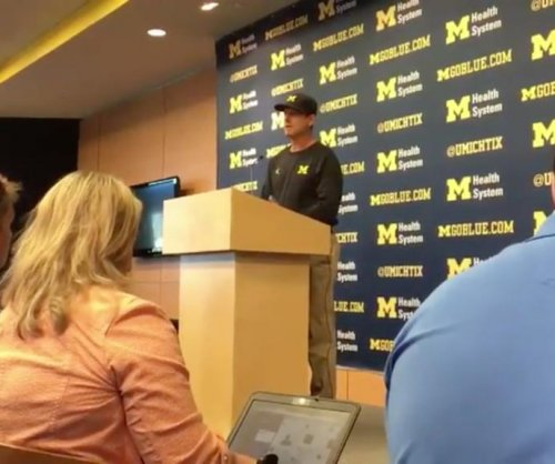 Jim Harbaugh not on board with Colin Kaepernick [VIDEO]