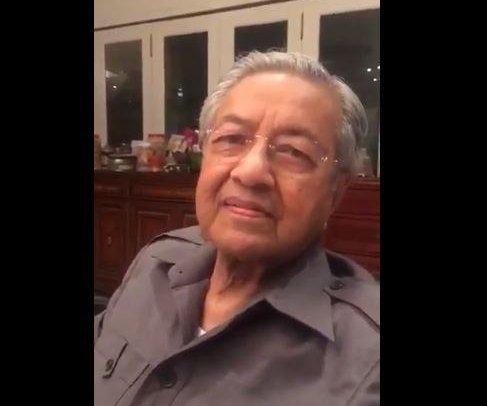Former Malaysia leader Mahathir to run again -- at 92