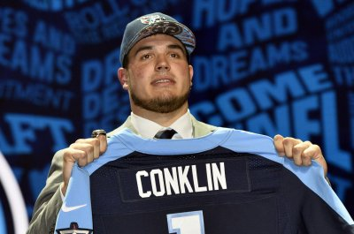 Tennessee Titans offensive tackle Jack Conklin has torn ACL