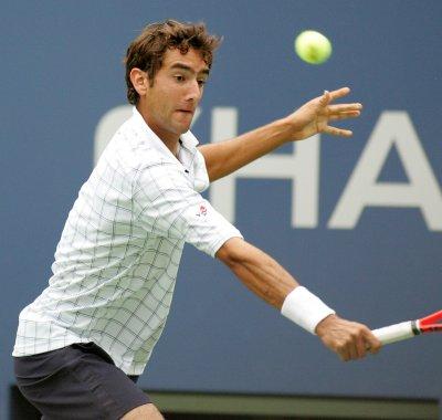 Cilic ousts del Potro at Australian Open