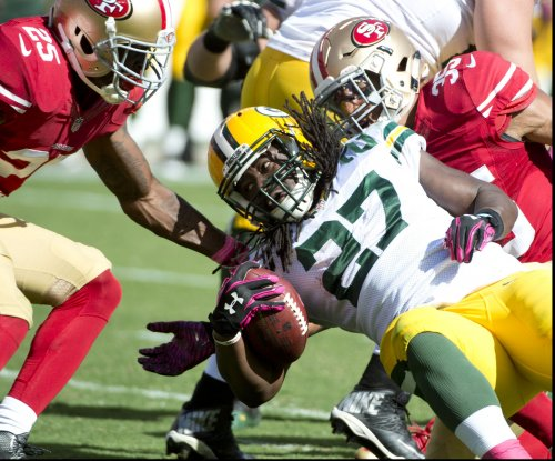 Eddie Lacy getting strong at right time