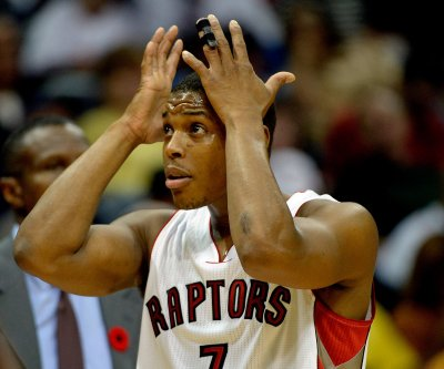 Toronto Raptors' Kyle Lowry shows hilarious reaction to box score