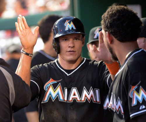 Miami Marlins' Derek Dietrich day-to-day with bruised wrist