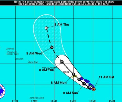 Tropical Storm Darby bearing down on Hawaii