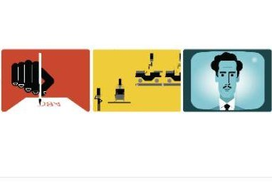Google celebrates 106th birthday of Marshall McLuhan with new Doodle