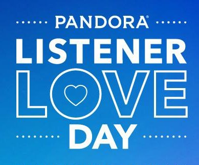 Pandora to celebrate 10 years with 'Listener Love Day'
