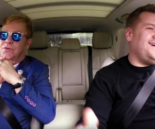 Elton John rides with James Corden for Carpool Karaoke