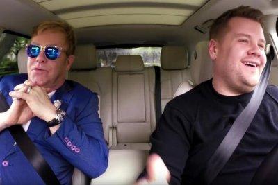 Elton John rides with James Corden for Carpool Karaoke