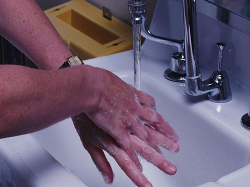 A dirty little secret: hand-washing spotty among day care staffers