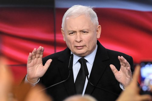 Exit polls show Polish Law and Justice party winning parliamentary elections