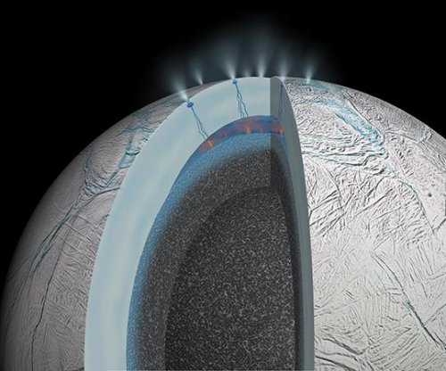 Cassini confirms hydrothermal activity in ocean on Saturn's moon