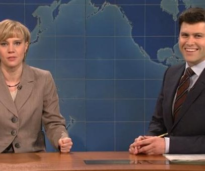 'SNL's Kate McKinnon as Angela Merkel, Time's Person of the Year
