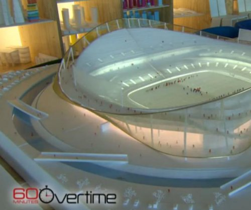 Washington Redskins' new stadium model features moat for kayakers
