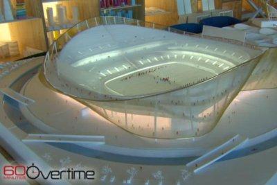Washington Redskins' new stadium model features moat for kayakers