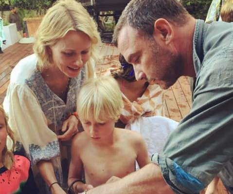 Naomi Watts, Liev Schreiber reunite for son Sasha's 10th birthday
