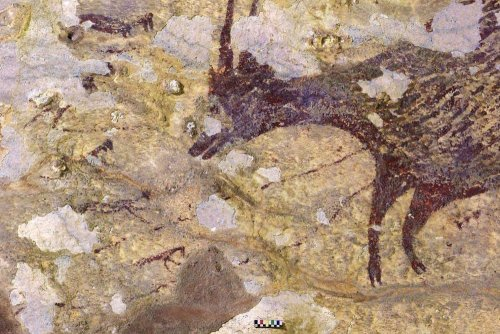 World's oldest figurative cave painting depicts ancient hunting scene