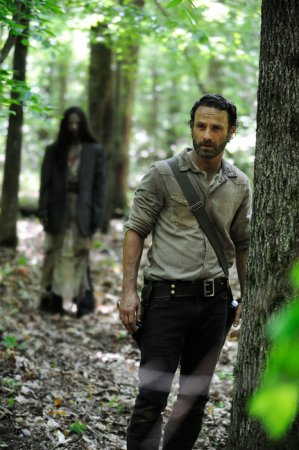 'Walking Dead' stars back to work in Atlanta