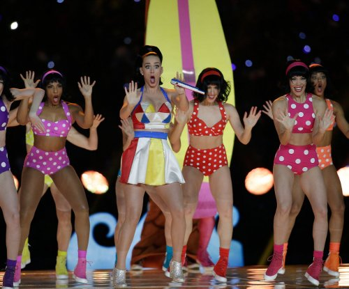 Katy Perry dazzles in Super Bowl Halftime Show